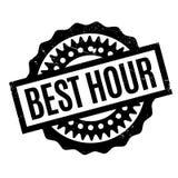 El mejor sello de goma de la hora Imagen de archivo