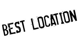 El mejor sello de goma de la ubicación Foto de archivo libre de regalías