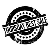 El mejor sello de goma de la venta de jueves Fotografía de archivo libre de regalías