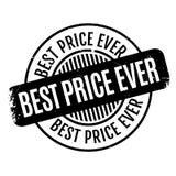 El mejor sello de goma del precio nunca Imágenes de archivo libres de regalías