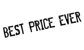 El mejor sello de goma del precio nunca Fotos de archivo
