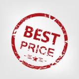 El mejor sello del precio Imágenes de archivo libres de regalías
