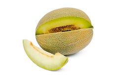 El melón del corte Foto de archivo