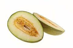 El melón verde Imagenes de archivo