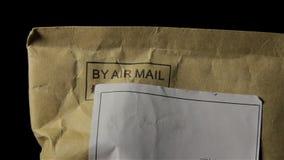 El mensaje por el correo aéreo metrajes