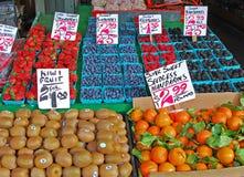 El mercado Foto de archivo libre de regalías