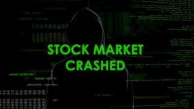 El mercado común estrelló, hombre anónimo implicado en el fraude financiero que robaba el dinero almacen de video