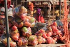 el mercado de África Fotografía de archivo