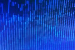 El mercado de acción cita el gráfico Imágenes de archivo libres de regalías
