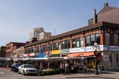 El mercado de ByWard en Ottawa Canadá Imagen de archivo libre de regalías