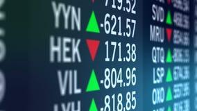 El mercado de los índices y de las siglas de las compañías en existencia, IPO puso en marcha la parte de negocios almacen de metraje de vídeo