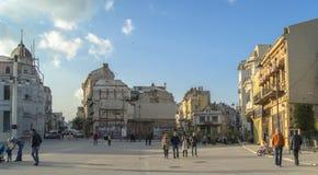 El mercado de Ovidiu Foto de archivo libre de regalías