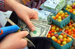 El mercado del granjero Imagen de archivo libre de regalías