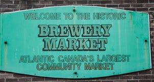 El mercado del granjero de Halifax Foto de archivo libre de regalías