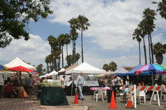 El mercado del granjero de Long Beach Imágenes de archivo libres de regalías