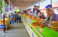 El mercado del pan Foto de archivo