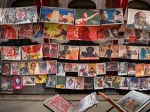 El mercado en Izmailovsky el Kremlin, Moscú imágenes de archivo libres de regalías