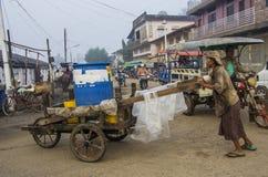El mercado fresco de la mañana de Dawei. Fotos de archivo libres de regalías