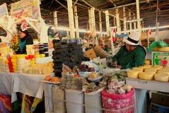 El mercado público, Cusco, Perú foto de archivo libre de regalías