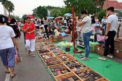 El mercado temporal Fotos de archivo