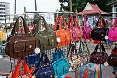 El mercado temporal Foto de archivo libre de regalías