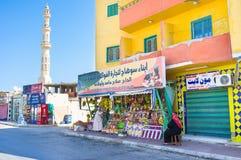 El mercado turístico Foto de archivo