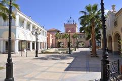 EL Mercato della via di Shoping in Sharm-EL-Sceicco Fotografie Stock