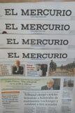 EL Mercurio Fotografía de archivo