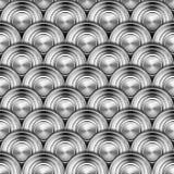 El metal circunda el fondo Foto de archivo libre de regalías