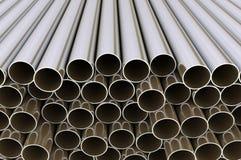 El metal instala tubos al grupo grande ilustración del vector