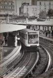 El metro parisien foto de archivo libre de regalías