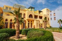El miasteczko Gouna. Egipt zdjęcia royalty free