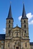 El Michaelsberg en Bamberg Fotografía de archivo
