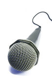 El micrófono aisló 2 Foto de archivo