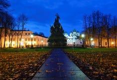 El milenio del monumento de Rusia Fotografía de archivo libre de regalías