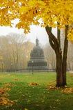 El milenio del monumento de Rusia Foto de archivo