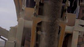 El mineral de la explotación minera de la máquina del proceso de la explotación minera en las materias primas finas metrajes