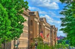 El Ministerio de Estados Unidos de Comercio en Washington, D C imagen de archivo libre de regalías