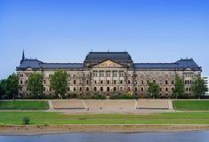 El Ministerio de Finanzas sajón del estado, Dresden Fotos de archivo