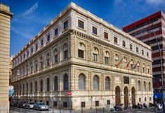 El ministerio del edificio de la economía y de las finanzas en Alicante, España Imagen de archivo