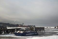 El ministerio ruso de las emergencias del aerodeslizador Imagen de archivo libre de regalías