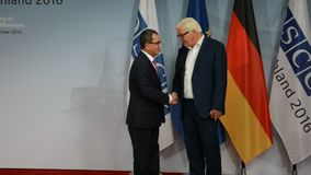 El Ministro de Asuntos Exteriores federal Dr Frank-Walter Steinmeier acoge con satisfacción a Ahmet Yildiz metrajes