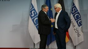 El Ministro de Asuntos Exteriores federal Dr Frank-Walter Steinmeier acoge con satisfacción a Andrei Galburm metrajes