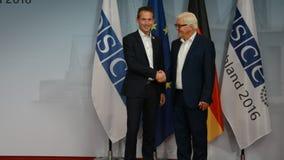 El Ministro de Asuntos Exteriores federal Dr Frank-Walter Steinmeier acoge con satisfacción a Kristian Jensen metrajes
