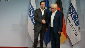 El Ministro de Asuntos Exteriores federal Dr Frank-Walter Steinmeier acoge con satisfacción a Miro Kovac metrajes