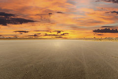 El Mirage Dry Lake Sunset Royalty Free Stock Photo