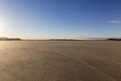 El Mirage Lake Bed in the Mojave Desert Royalty Free Stock Image