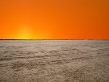 El Mirage Mojave Sunrise Stock Image