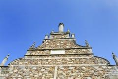 El mirar para arriba el aguilón isabelino Fotografía de archivo libre de regalías
