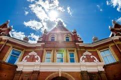 El mirar para arriba el ayuntamiento Imagen de archivo